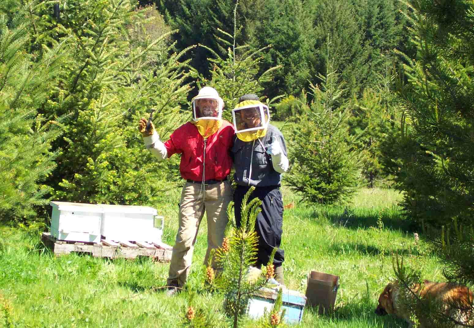 Mossback Farm Bee Team